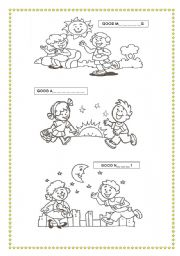 English Worksheets: Greetings