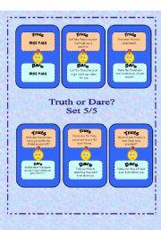 Truth or Dare? - Set 5/5