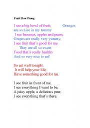 Healthy Food: Poem On Healthy Food