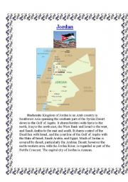 English Worksheets: Jordan