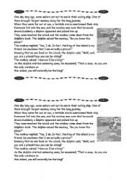 English Worksheets: BEAUTIFUL LEGEND