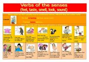 VERBS OF THE SENSES (FEEL, LOOK, SMELL, TASTE, SOUND)