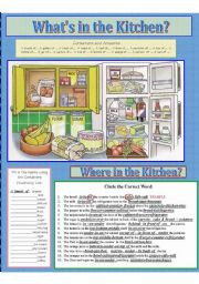 FOOD: What´s in the Kitchen?