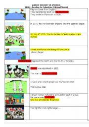 English Worksheet: bowling for columbine answer key
