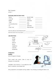 Printables Computer Worksheets For Middle School english teaching worksheets computers computer learning