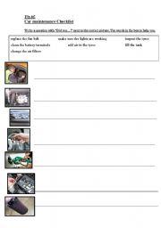 English Worksheets: Fix it!