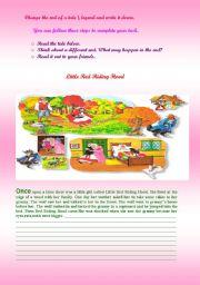 English Worksheets: WRITING SKILL NICE !!!!