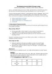 English Worksheet: Pronunciation games