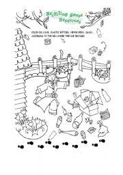 English Worksheet: Recycling materials