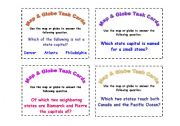 English Worksheets: Inference Task Cards