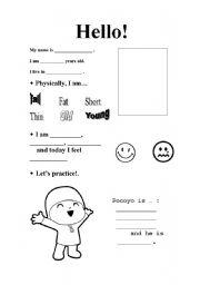 English worksheet: Aspect!