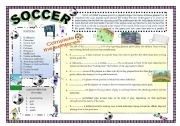 English Worksheet: CAN YOU PLAY SOCCER?