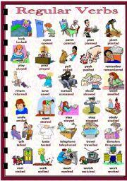 English Worksheet: Past Simple - regular verbs (2/2)