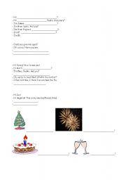 English Worksheets: Basic expressions worksheet