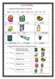 Measuring Volume: How Much Liquid Can it Hold? | Worksheet ...