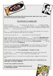 Raymond Chandler and black novels