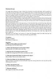 English Worksheets: simon and the spy