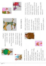 English Worksheets: robin hood mini book