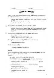 English Worksheet: THE USE OF