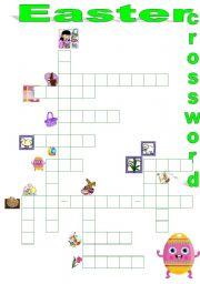 English Worksheet: Easter crossword !!