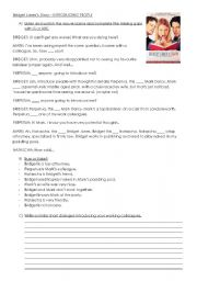 English Worksheets: Bridget Jones - Making Introductions