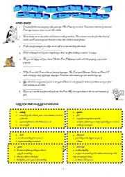 English Worksheets: vocab HO