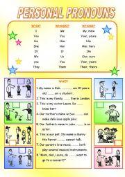 Personal Pronoun (1)