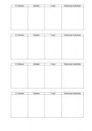 English Worksheets: Brainstorm