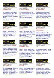 English Worksheets: CATS Loop