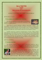English Worksheet: Macbeth by William Shakespeare