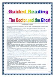 how to write a ghost story lesson