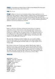 English Worksheets: Anglik