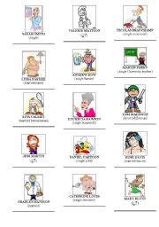 English Worksheets: titles