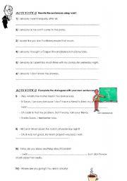 English worksheet: wish worksheet part II