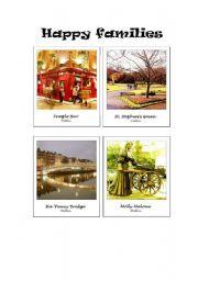 English Worksheet: Polaroid Happy Families 1/4 - Dublin