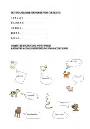 English Worksheets: picture-story2