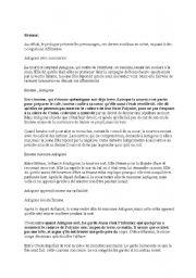 English Worksheets: antigone