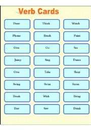 English Worksheet: Game to practice all Tenses 6 Pages