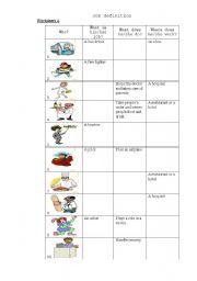 Job definition Worksheet A