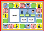 English Worksheets: DAILY ROUTINE -  BOARD GAME AND INSTRUCTIONS (PART 1)