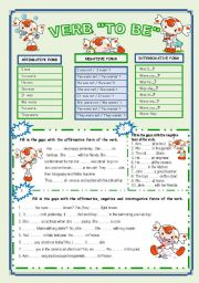 English Worksheets: PAST SiMPLE OF THE VERB