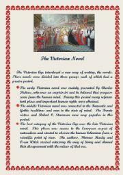 English Worksheets: The Victorian Novel
