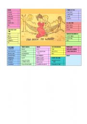 Busy person´s correspondence card
