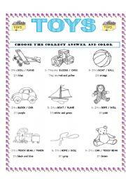 TOYS / COLORS