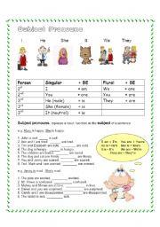Nominative Pronouns | C2 Week 4 | Pinterest | English, Worksheets ...