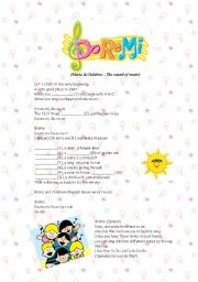 English Worksheets: Doremi song from the film