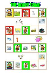 English Worksheets Rooms In The House Worksheets Page 29