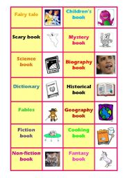 English Worksheets: Make a book cover 2