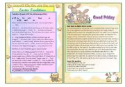 English Worksheets: All about Easter