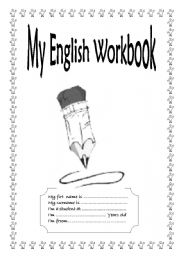 English Worksheets: Cover Page